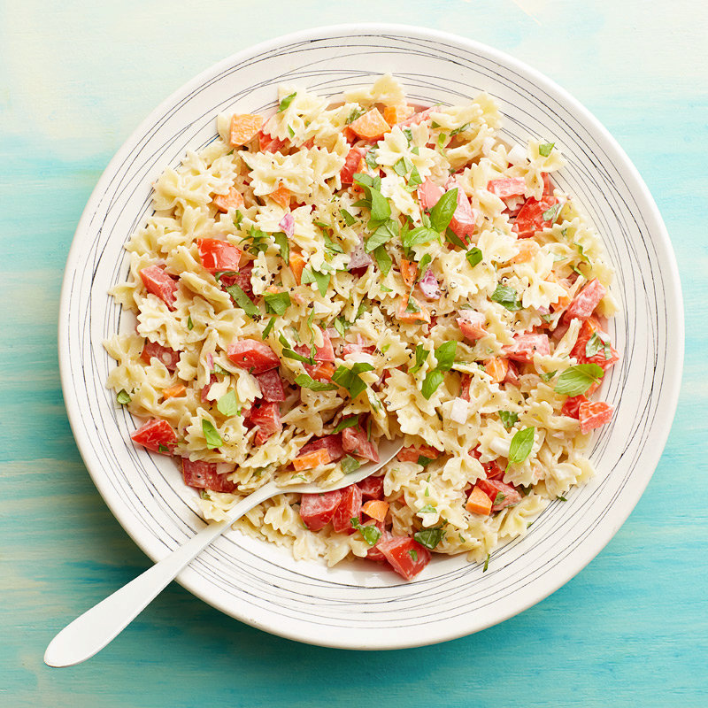 Pasta Salad with Tomato and Basil