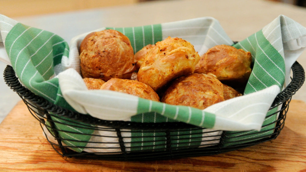 Gougeres with Espelette