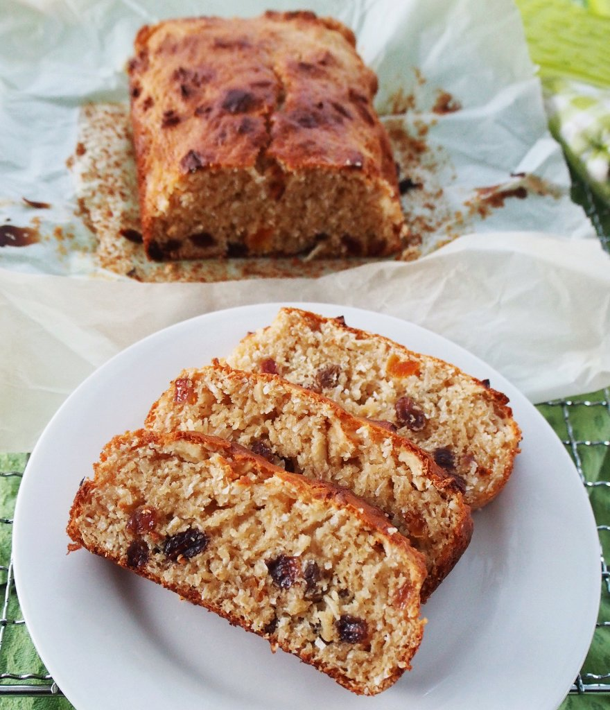 Super simple egg and nut free cake