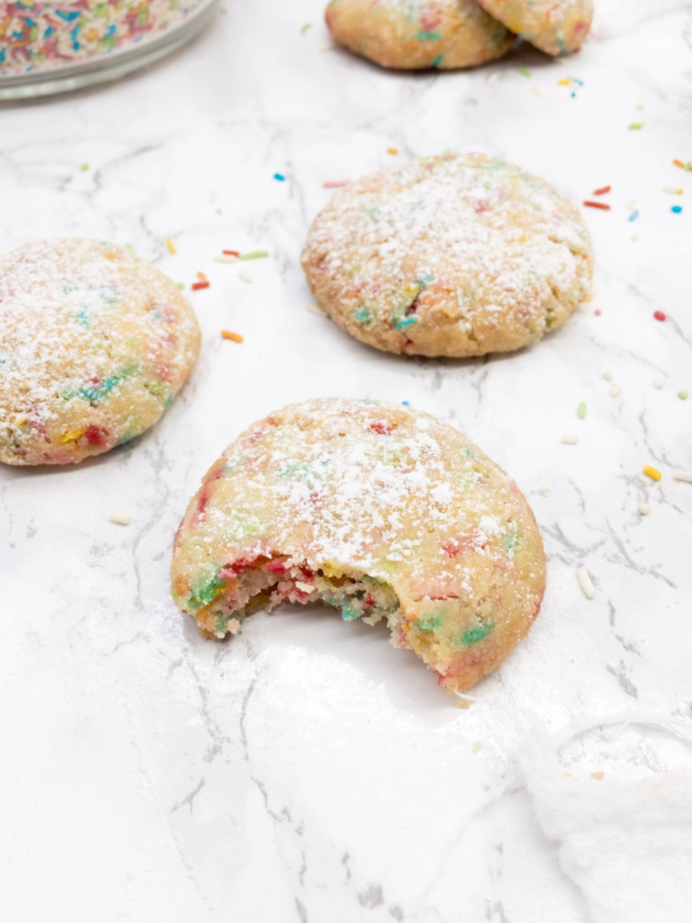 Melt in Your Mouth Funfetti Cookies