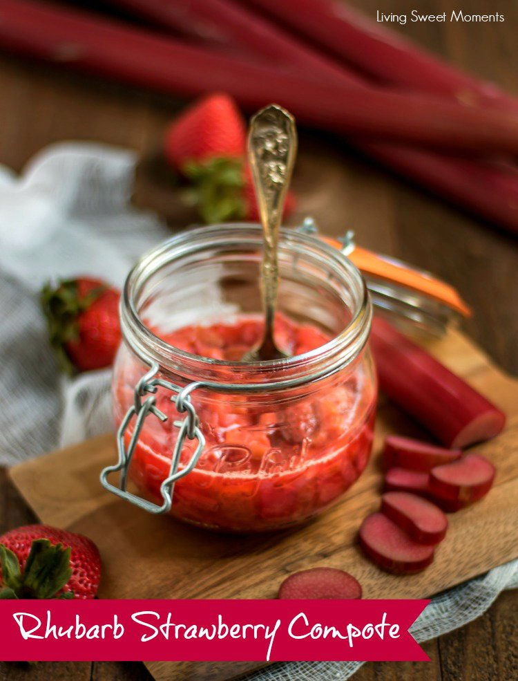 Delicious Rhubarb Strawberry Compote