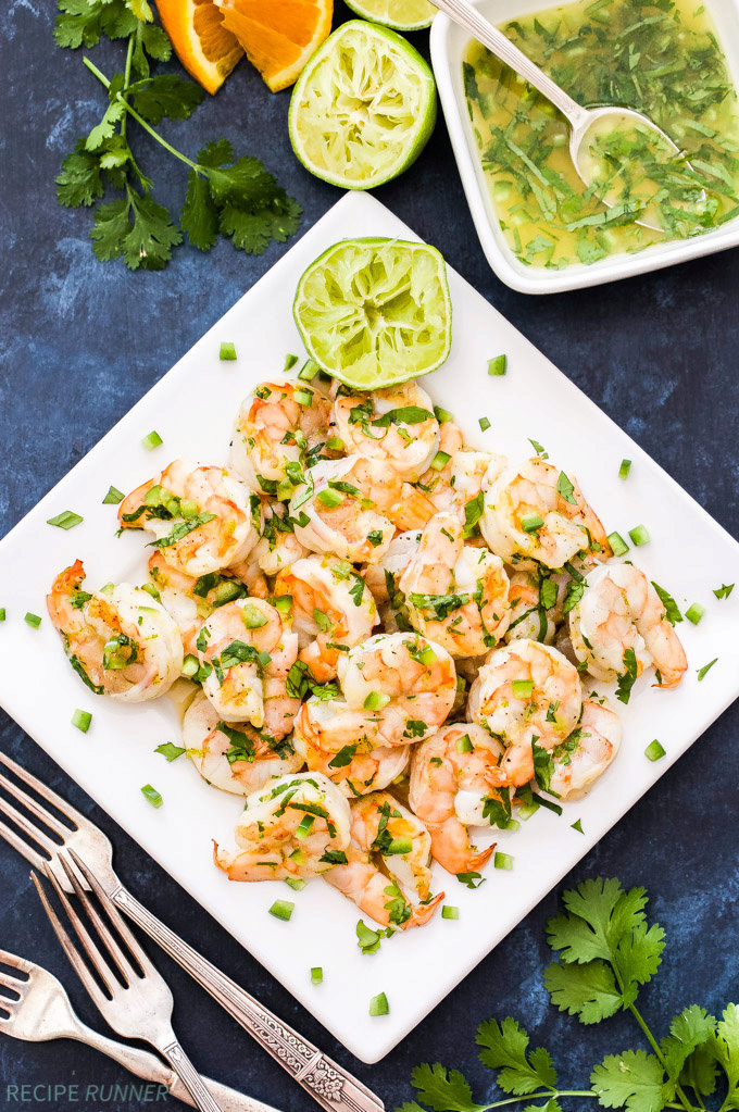 Grilled Shrimp with Citrus Marinade