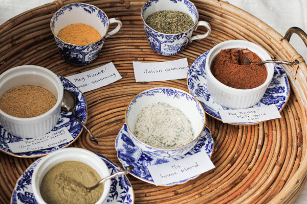 Six essential AIP spice blends