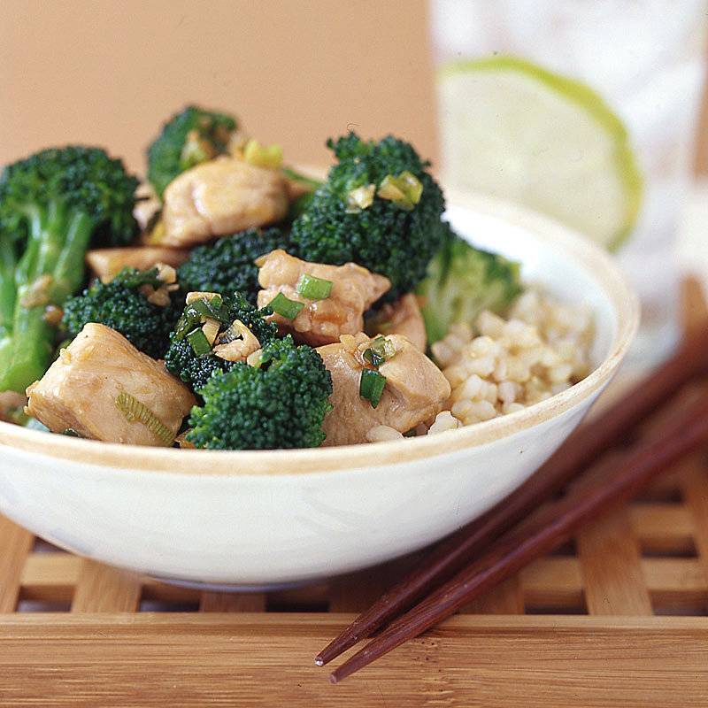 Chicken Teriyaki with Broccoli