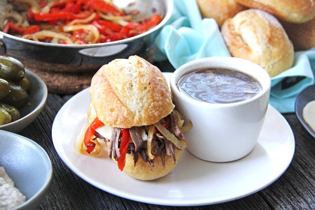 Crockpot Beef Dip Recipe