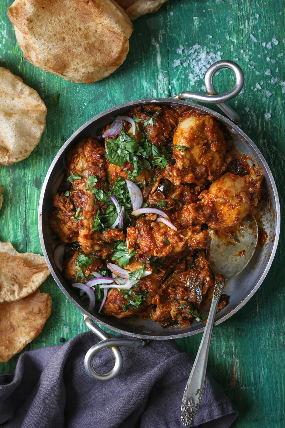Spicy Tomato Chicken Curry