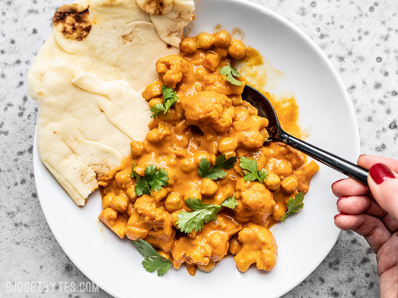Cauliflower and Chickpea Masala