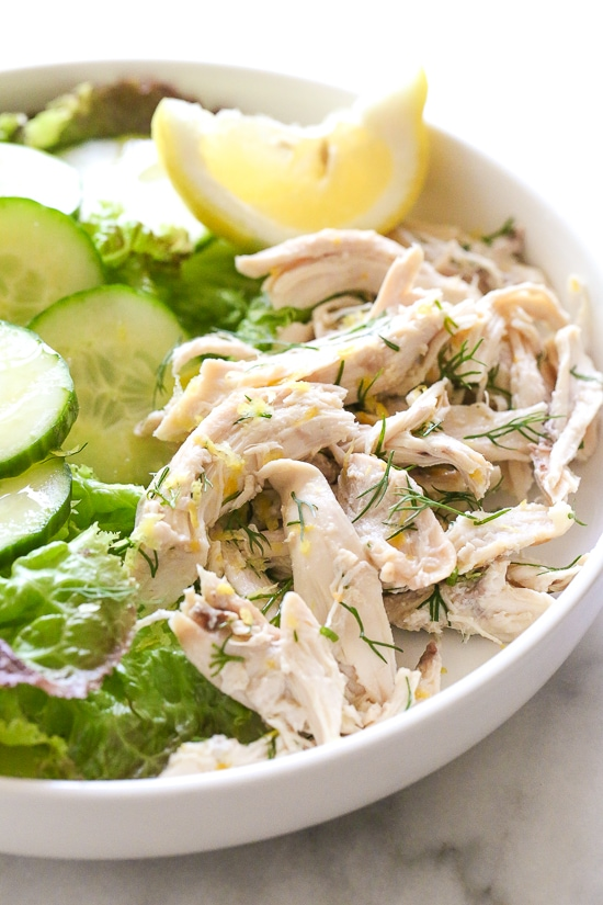 Chicken Salad with Lemon and Dill