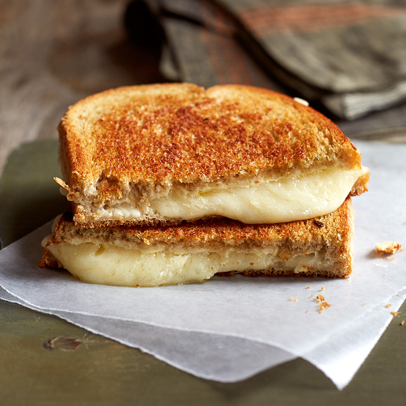 Grilled Swiss Cheese with Dijon-Mayonnaise